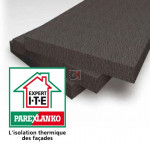 POLYSTYRENE GRAPHITE   Ep. 240mm   Format : 1.20x0.60   R=7.70 PAREX-IPLG240 de Parexlanko
