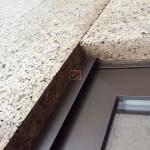 Panneau de liège expansé spécial façade extérieure brute | Bords mi-bois | D=140-160kg/m3  | Ep.80mm, 50X100cm AMOR-TLG80HD-RL de Amorim