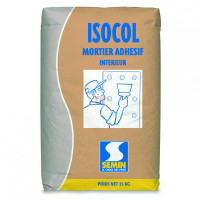 ISOCOL MORTIER ADHESIF INTERIEUR 25KG ISOCOL 25KG de Semin