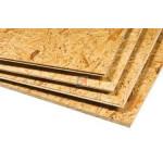 Dalle plancher OSB 3 rainures & languettes | Ep.12mm Format : 2500x625mm PXD DFO312 625 de Kronolux