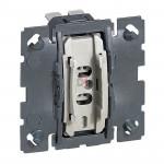 Céliane Interrupteur ou va-et-vient oucommande de VMC 10AX 230V LEG-067001 de Legrand