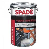 SPADO Vernis noir bitumineux 4L noir DELZ-SPA-79051750 de SPADO