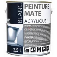 BATIR 1° Acrylique mat 2,5L blanc DELZ-ADD-51601272 de ADDICT