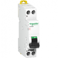 Prodis DT40K- disjoncteur - 1P+N - 20A - courbe C - 4,5 kA  SCHN-A9N21105 de Schneider Electric