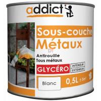ADDICT Sous-couche métaux 0,5L blanc DELZ-ADD-51500781 de ADDICT