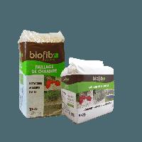 BIOFIB JARDIN PAILLAGE CHANVRE EN SAC DE 200L soit 20KG BIOFIBJARDIN-718306 de Biofib