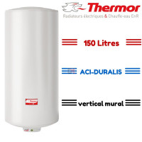 Chauffe eau duralis 150 litres mural thermor THERMOR-271083 de Thermor