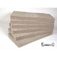 Paquet de 12 panneaux Laine de mouton Naturlaine Ep.45 mm | 0,6 mx1,35 m soit 9,72m² NATURLAINE-PX4560-N60NA45P de Naturlaine