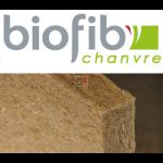 BIOFIB PANNEAU CHANVRE   Ep.200mm 1,25x0,6m   R=5  BIOFIBCHANVRE200-60X125-BIOCH200P de Biofib