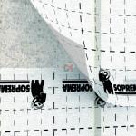 PARE VAPEUR SOPRAVAP VISIO Largeur 1,5m Sd=26m (quadrillé et transparent)  – A la découpe SOPRAVAPVISIO-DEC de Soprema