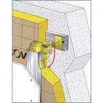 APPUI OPTIMA 2 120mm, 100-120mm Lot de 50 Unités ISOV-OPTIMA120-X50 de Isover