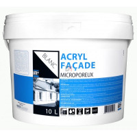 BATIR 1° Façade acrylique écolabel 10L blanc DELZ-ADD-51601310BLAN de ADDICT