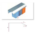 Profilé de couronnement en aluminium 120mm x2,5ML PAREX-IPCA120 de Parexlanko