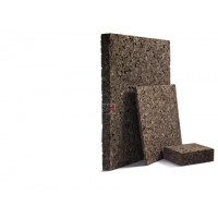 Panneau isolant de liège expansé Acermi Amorim Corkisol bords droits | Ep.70mm, 50X100cm R : 1,75 AMOR-TLG70 de Amorim