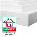 POLYSTYRENE EXPANSE | Ep.40mm | Format : 1.20x0.60 | R=1,05 PAREX-IPLB40 de Parexlanko