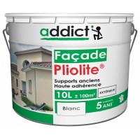 ADDICT Façade 100% pliolite 10L blanc DELZ-ADD-51500710BLAN de ADDICT