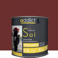 ADDICT Sol 0,5L rouge brun DELZ-ADD-51500630RGBR de ADDICT
