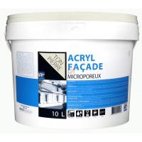BATIR 1° Façade acrylique écolabel 10L ton pierre DELZ-ADD-51601310TNPR de ADDICT