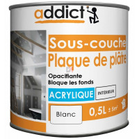 ADDICT Sous-couche acrylique 0,5L blanc DELZ-ADD-51500741 de ADDICT