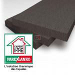 POLYSTYRENE GRAPHITE   Ep. 110mm   Format : 1.20x0.60   R=3,5 PAREX-IPLG110 de Parexlanko