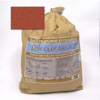 DECO D'ARGILE ENDUIT TERRE ROUGE SAC DE 25kg DATR25 de QEM