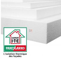 POLYSTYRENE EXPANSE | Ep. 80mm | Format : 1.20x0.60 | R=2,10 PAREX-IPLB80 de Parexlanko