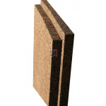 Panneau isolant de liège expansé Acermi Amorim Corkisol bords mi-bois | Ep.200mm, 50x100cm R : 5 AMOR-TLG200RL de Amorim