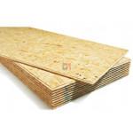 Dalle plancher OSB 4 rainures & languettes | Ep. 22mm Format : 2500x625mm PXD DFO422 de Kronolux