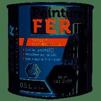 BATIR Fer brillant 0,5L noir DELZ-BAT-51601350NOIR de RECA