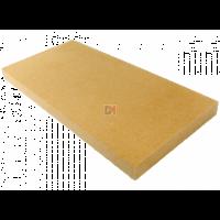 FIBERWOOD MULTISOL Bords droits d=110 kg/m3  200mm – 1250mm x 600mm R : 5,00 ISONAT-MULTIS110-200BD-12052 de Isonat