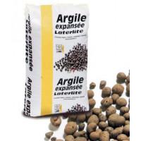 Argile expansé sac de 50L granulométrie 2/3 - Billes isolantes incombustibles AGX-2/3 de Laterlite