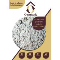 Ouate de cellulose en vrac OUATTITUDE Lambda=0,039 W/m°C ACERMI ISOCELLM10 de Isocell