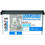 ADDICT Acryl mat monocouche 2,5L blanc DELZ-ADD-51500722 de ADDICT
