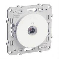 Odace, prise TV Blanc, à vis Schneider Electric SCHN-S520445 de Schneider Electric