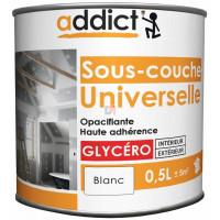 ADDICT Sous-couche universelle 0,5L blanc DELZ-ADD-51500751 de ADDICT