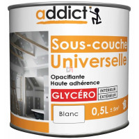 ADDICT Sous-couche universelle 0,5L blanc DELZ-ADD-51500751 de ADDICT