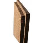 Panneau isolant de liège expansé Acermi Amorim Corkisol bords mi-bois | Ep.60mm, 50X100cm R : 1,5 AMOR-TLG60RL de Amorim