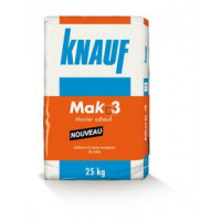 Mortier MAK 3 - 25 kg  MAK3 de Knauf