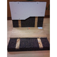 Panneau de liège expansé Acermi pré-lambourdé | Ep.50mm, 50X100cm R : 1,25 AMOR-TLG50LB de Amorim