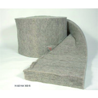 Paquet de 2 rouleaux Laine de mouton Naturlaine Ep.200 mm | 0,6 mx5 m soit 6m² NATURLAINE-RLX20060-N60NA200R de Naturlaine