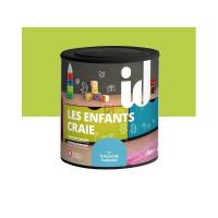 LES DECORATIVES Les Enfants Craie 0,5L vert DELZ-ID-55100040VERT de ID