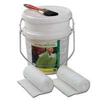 Kit WYFLEXA matériau d'étanchéité (avec pot 2l.) P-WYFLEXA-2L de Proclima