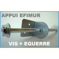 APPUI POUR EFIMUR 94MM - TAPEE DE 160 mm - Boite de 50 vis et 50 équerres SOP-APPUI-EFIMUR160-125-00100730 de Soprema
