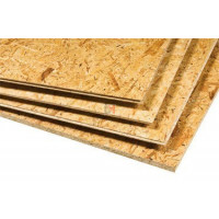 Dalle plancher OSB 3 rainures & languettes   Ep.12mm Format : 2500x625mm PXD DFO312 625 de Kronolux
